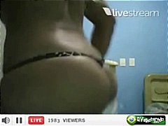 groot anties, naakte, blond, webcam