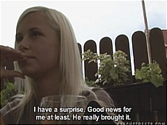 public, lucka, reality, blowjob, amateur, czech, streets, home made,