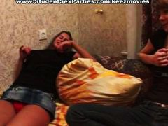 bedroom, pretty, studentsexparties.com, blowjob, group, russian, amateur, teen, pov, reality