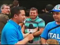 Flasher during interview