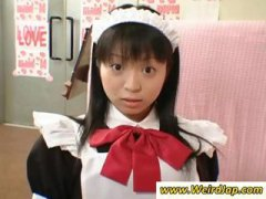 maid, bad, petite, brunette, punished, uniform, japanese, gets, asian