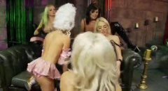 fingering, party, lesbian, blonde, lingerie, costume, pussy eating, pornstar, fake tits, big tits,