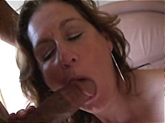busty, facial, sucks, brunette, pounded, milf, nylon, manuela, load, mature