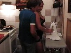 kitchen, one, mature, blonde, amateur, chubby, fun, hot