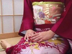 Elegant japanese woman shagged