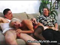 cuckold, other, busty, gets, couple, one, pussy, guy, blowjob, mature, interview, hot, blonde, big cock