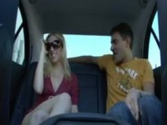 car, outdoor, teen, blonde, blow-job, public, reality, backseat, stranger, pov