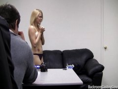 pov, casting, blonde, first, scarlett, teens