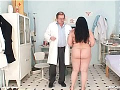 gyno, tits, examination, fat, pussy, hospital, kinky, big tits, chubby, uniform, bizarre, big, granny, grandma, mom