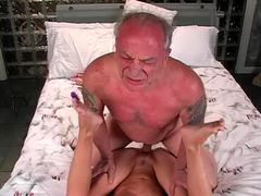 vintage, old young, fucking, brunette, loves, mature, cock, classic, hardcore, older, blowjob, sucking, allison, old man