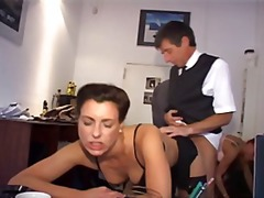 hardcore, big tits, ass, secretary, hammered, sexy, group, german, office, redheaded, gets