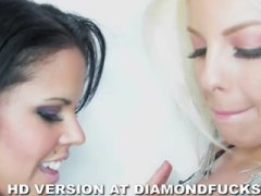diamond kitty,  orgasm, pussy-eating, big-tits, diamond kitty, busty, white, diamond, kitty, lesbian, babes,
