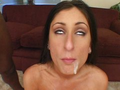 tiffany rayne, luscious lopez, cindy sterling,  ebenholz, cumshot, ins gesicht spritzen, group