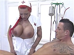 masturbates, german, red head, uniform, nurse, hardcore, redhead, big tits, busty, head, patient, gives
