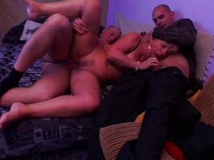 double penetration, cocks, fucked, granny, young, anal, group, horny
