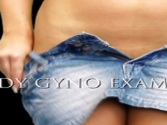 gyno exam, gyno, sex toys, candy, blondes, close-ups, exam