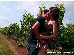 brunette, teen, amateur, orgasm, 18stream.com, outdoor, blowjob, ass, hardcore, small-tits, pussy-eating,