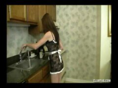 handjob, pov, gives, teen, kitchen, milf, this, nice, jizz, guy