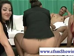 cfnm, slut, fellati, fucks, horny, naked, dicksucking, sucking, guy, blowjob
