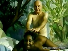 negra, matanda at bata, interracial, bata, makaluma
