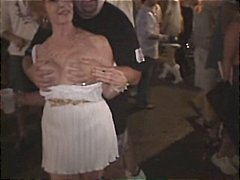 reality, nasty, flasher, costume, fucks, gets, drunk, public, amateur, naughty, party