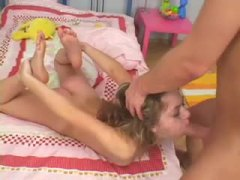 big cock, brutal, girl, fuck, blonde, facefuck, small tits, gagging, face fuck, during