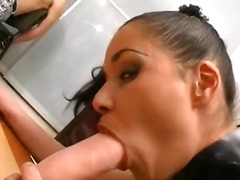 doggystyle, double, blowjob, hardcore, dildo, big cock, kinky, boots
