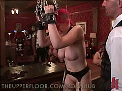reality, lifestyle, slave, bondage, big-tits, live, domination, brunette, hardcore, groupsex, bdsm, submission