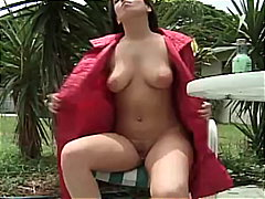 fetish, pissing, big-tits, babe, piercing, big-boobs, kinky, skinny, outdoor, amateur, piss, brunette, shaved, public