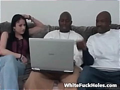 hardcore, gros seins, interracial, pipes, anal, groupe, jeune fille, sexe brutale