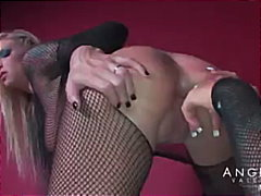 pornstar, angelina valentine, tattoo, dildo, kissing, latex, fetish, round-ass, pussy-licking, babe, heels, toys, girl-on-girl, fishnet, big-tits, lesbian