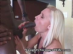 Devon, kom skoot, stoute, ma, blond, swinger, inter-ras