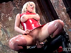 fetish, anal sex, blonde, masturbation, cum shot, shaved, couple, blowjob, latex, caucasian, toys