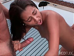 latina, threesome, thithje