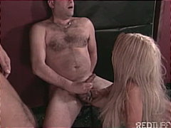 strap-on, cum shot, wanking, brunette, blonde, masturbation, group sex, caucasian