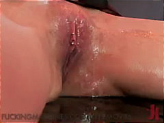breanne benson,  tied, breanne benson, vibrator, bondage, devices, piercing, fetish, busty, masturbation, fingering