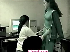 latino, sex, nude, lesbian, office, getting, couple