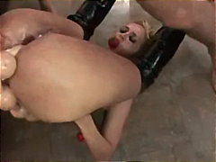 gaping, smoking, face-fuck, anal-creampie, rough-sex, double-anal, slave, deep-throat, slut, gagging, ass-to-mouth