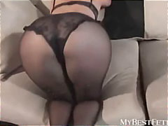 pantyhose, panties, fetish, tease, lingerie, mybestfetish.com, round-ass, busty, solo, softcore