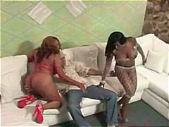 group, ass-to-mouth, masturbation, blowjob, bigtits, threesome, fishnet, tits, anal, big, ebony, cumshot