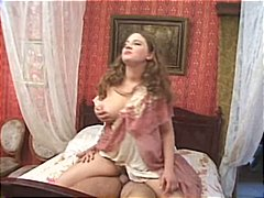oral, cumshot, blowjob, big tits, couple, nurse, hardcore, vintage, russian