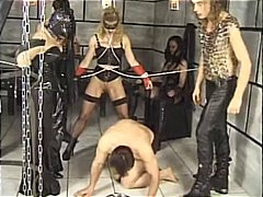 leather, tied up, latex, chained, slave, german, bondage, group sex, fetish, pissing, kinky, european