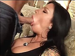 hardcore, tattoo, blowjob, oral, titty fuck, squirt, couple, brunette, milf, big tits, masturbating