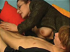 lécher, brunettes, oral, pipes