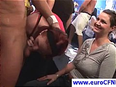 blowjob, orgy, european, public, cfnm, group sex