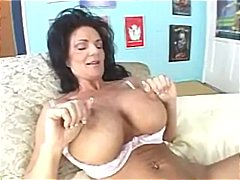 rimjob, foreplay, milf, curvy, pornstar, pussy eating, huge, brunette, big tits, fake tits