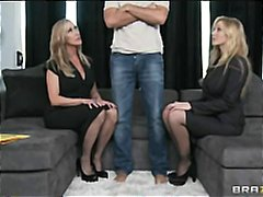 julia ann,  julia ann, katrin wolf, mother, milf mom, threes