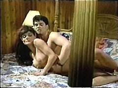 Hot and kinky vintage scenes from a movie made in the 80s