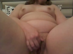 Dirty little slut masterbating on web cam