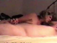 Mature fucking with stepson while husband works at night